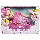 Luvabella Newborn - interaktive Baby Puppe (43 cm) mit blonden Haaren, realistischer Mimik und Bewegungen