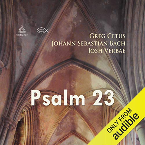 Psalm 23 audiobook cover art