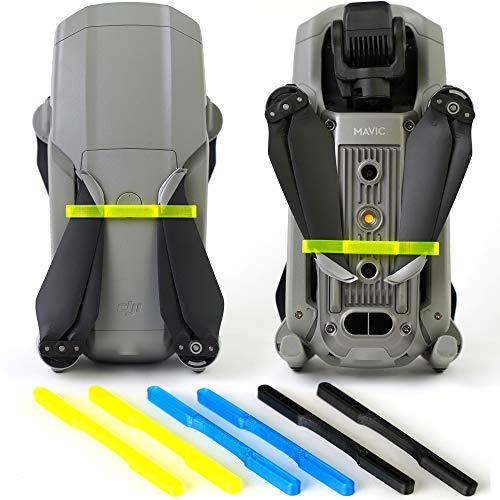 3dquad Transport Schutz für Propeller, Blade Holder, Clip für DJI Mavic Air 2 Drohne (gelb)