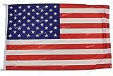 Bandiera USA 150x100cm in tessuto nautico antivento da...