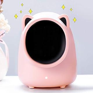 GOYOO 500W Cerámica Calefactor pequeño bajo Consumo, Protección sobrecalentamiento y antivuelc Silencioso