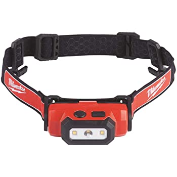 Milwaukee 2111-21 475-Lumen LED Rechargeable Hard Hat Headlamp
