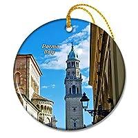 イタリアパルマ大聖堂クリスマスオーナメントセラミックシート旅行お土産ギフト