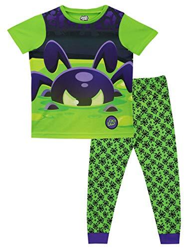 Animal Jam Pijamas Manga Corta niños Phantoms Verde