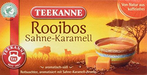 Teekanne Rooibos Sahne-Karamell, 6er Pack (6 x 35 g)