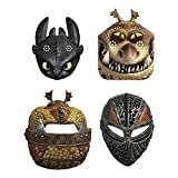 Unique How to Train Your Dragon Party Masks, 8 Ct., Multi, One Size (79181)