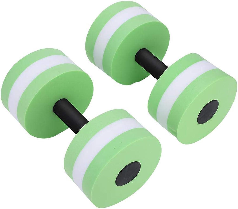 Water Aerobics Dumbbells, Men Women Aquatic Exercise Dumbbells Set Fitness Yoga Barbells