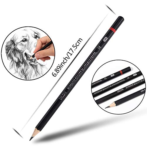 Professional Drawing Sketching Pencil Set - 12 Pieces Art Drawing Graphite Pencils(8B - 2H), Ideal for Drawing Art, Ideal for Drawing Art, Sketching, Shading, for Beginners & Pro Artists Photo #4
