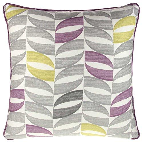Copeland Modern Geometric Printed Cushion Cover 17' x 17' 43cm x 43cm Heather Purple