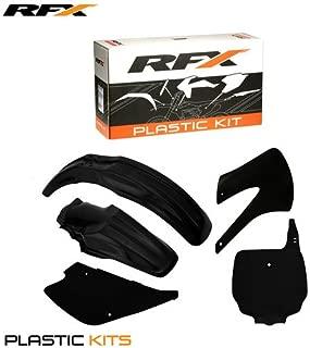 RFX FXPK 20300 55BK Kawasaki KX85-100 98-13 Plastic Kit, Black