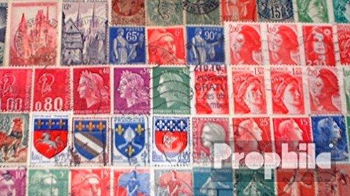 Prophila Collection Frankreich 50 Verschiedene Marken (Briefmarken für Sammler)