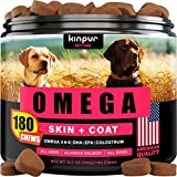 Healthy Skin & Coat: is your pet suffering from shedding, irritated skin, & hot spots? Skin and coat supplement for dogs supports skin nourishment, shine, softness, & strength for your lovely pet. Effective Omega For Dogs: our formula contains alaska...