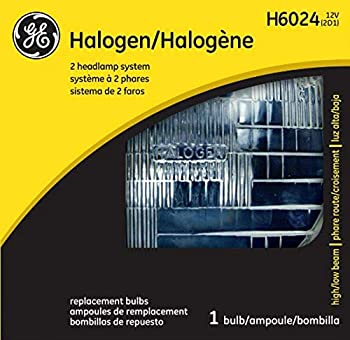 GE Lighting H6024 Standard Automotive Halogen Sealed Beam Replacement Bulb