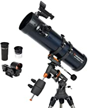 Celestron - AstroMaster 130EQ Newtonian Telescope - Reflector Telescope for Beginners - Fully-Coated Glass Optics - Adjust...
