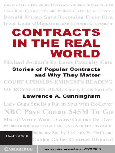 Contracts in the Real World (English Edition) PDF Books
