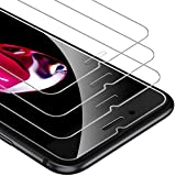 UNBREAKcable 9H Härte Panzerglas [3er Pack] Panzerglasfolie Kompatibel mit iPhone 6s/6/7/8, 2.5D...