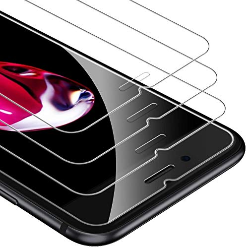 UNBREAKcable iPhone 8/7/6s/6 Panzerglas [3 Stück] Panzerglasfolie für iPhone 8/7/6s/6, 9H Härte Schutzfolie, 2.5D Displayschutzfolie, Hüllenfreundlich, 3D-Touch, Anti-Bläschen, Anti-Kratzer