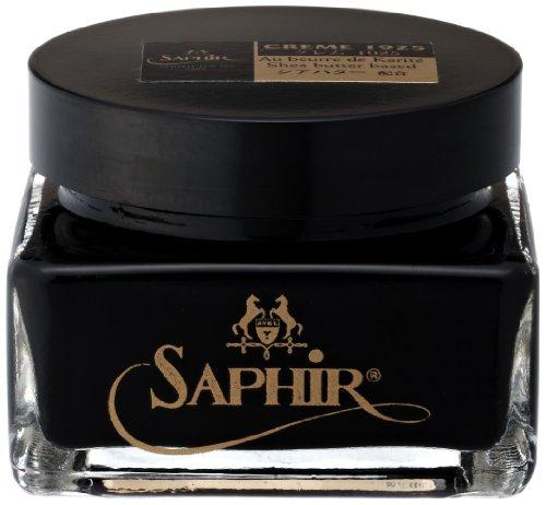 Saphir Ledersattelseife, Schwarz - NOIR 01 - Größe: 75 ml