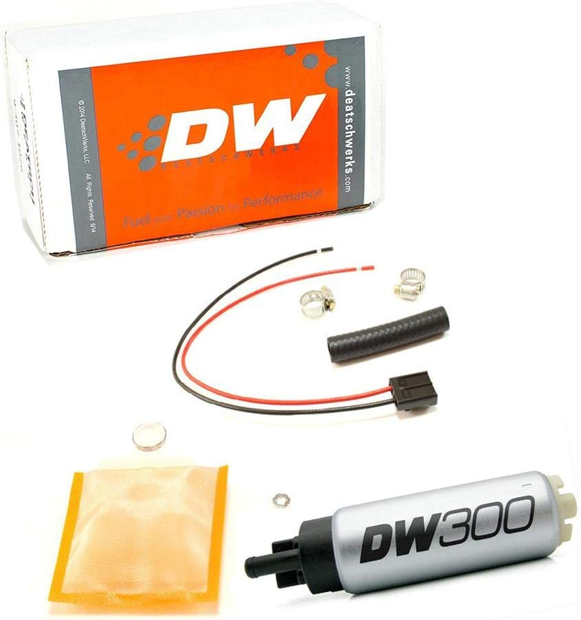 Deatschwerks 340LPH In-Tank Fuel 67% OFF of fixed price Pump Super Special SALE held 9-1000 Install W Kit