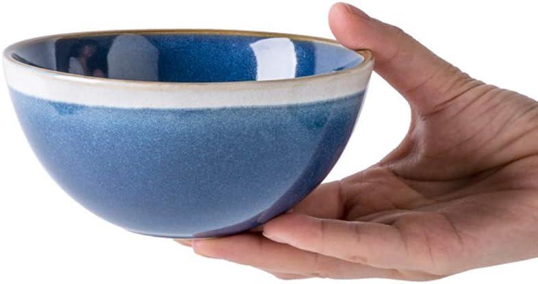 ZHEYANG Bowl Cereal Bowls Noodle NEW before selling ☆ Small Salad Soup Max 69% OFF
