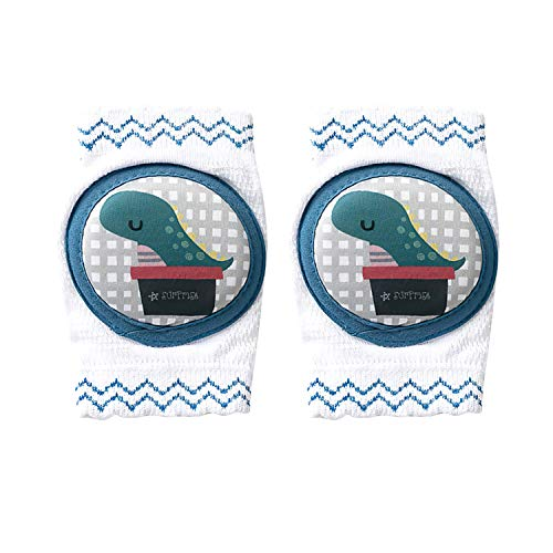 BED COTTON Rodilleras para gatear, rodillera bebe gateo protector ajustable para bebé pequeños, antisdeslizantes Almohadillas para Niño Rodilla Codo Leg Warm 0-24 Meses