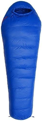 Kitzen Sac de couchage en plein air, en plein air camping Mamie momie type ultraléger léger duvet sac de couchage, peut double couture High Quality