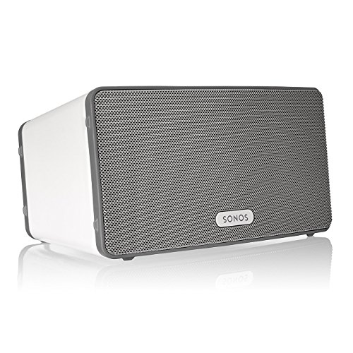 Sonos PLAY:3 Mid-Sized Wireless Smart Speaker for Streaming Music (White)