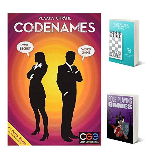 Codenames, Jeux De Cartes Pour Adolescents, Garçons, Filles, Couples, Cadeau Amusant, De 2 A 8 Joueurs, Combo, Lot De Deux Livres Électroniques, Version Anglaise