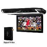 "XTRONS® 10"" HD Digital TFT Monitor Car Roof Flip Down Overhead DVD Player"
