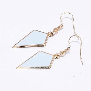 BGTKD Earrings Geometric Rhombus Triangle Drop Earring Long Earrings For Women Jewelry