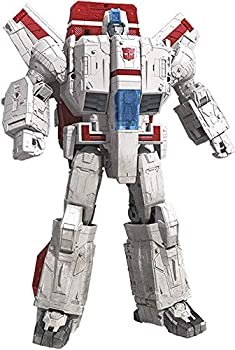 Transformers Toys Generations War for Cybertron Commander WFC-S28 Jetfire Action Figure - Siege Chapter - Adults and Kids Ages 8 and Up 11-inch