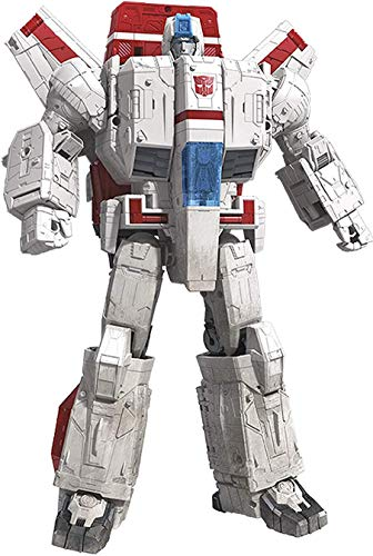 Transformers Toys Generations War for Cybertron Commander Wfc-S28 Jetfire Action Figure - Siege Chapter - Adults & Kids Ages 8 & Up, 11""