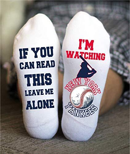 New York Yankees Funny Socks - Socks for baseball fans