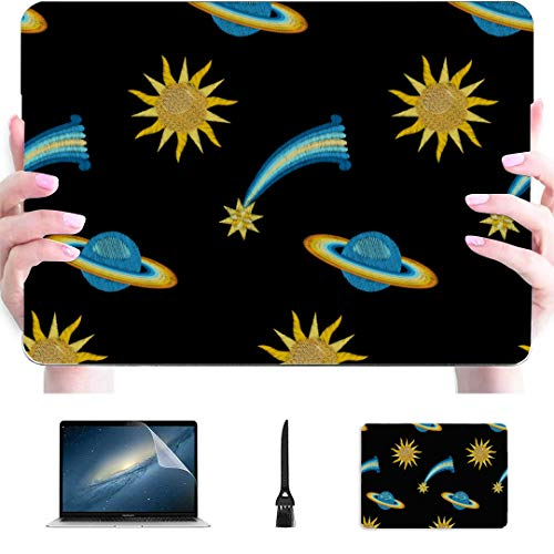 Macbook Pro Case 15 Amazing Solar System Space Plastic Hard Shell Compatible Mac Air 13' Pro 13'/16' 2018 Macbook Pro Accessories Protective Cover For Macbook 2016-2020 Version