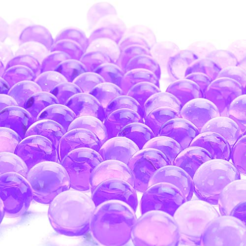 LOVOUS 12 Colors Water Beads, Crystal Soil Water Bead Gel, Wedding Decoration Vase Filler - Furniture Decorative Vase Filler, All Occasion Table Centerpiece Decorations 3000 Pcs (Purple)