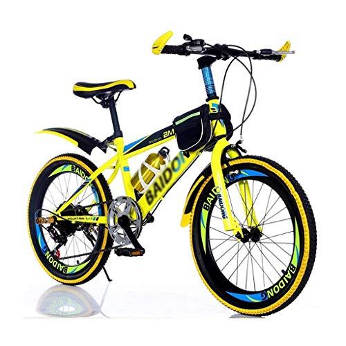 FDSH Fahrräder, 20 Zoll, Kinder Mountainbike, Erwachsenenfahrrad, männliche und weibliche Cross Country Boy Wanderrad-C