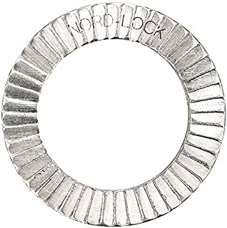 1177 254 SMO Stainless Steel Pkg of 100 Nord-Lock 1177 Wedge Locking Washer M20