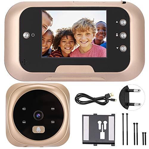 """Wandisy Regalo di Luglio 3.0""""TFT LCD Campanello Digitale, Videocamera di Sicurezza Porta Spioncino Spioncino Videocamera Visione Notturna Grandangolo + Registrazione Video + Ripresa fotografic"""