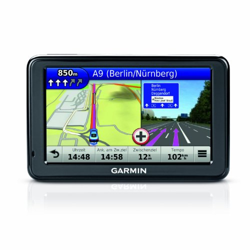 Garmin nüvi 2445 LT CE Navigationsgerät (10,9 cm (4,3 Zoll) Display, 3D Traffic, Zentraleuropa, nüMaps Guarantee, Text-to-Speech)