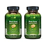 Irwin Naturals Bloat-Away - Water Balance Support - Replenish Electrolytes & Essential Minerals - 60 Liquid Softgels (Pack of 2)