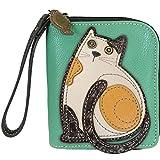 Chala Cat Zip-Around Wristlet Wallet, cat Mom Gift