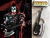 Keychain Guitare basse Cort Axe Gene Simmons Signature Kiss