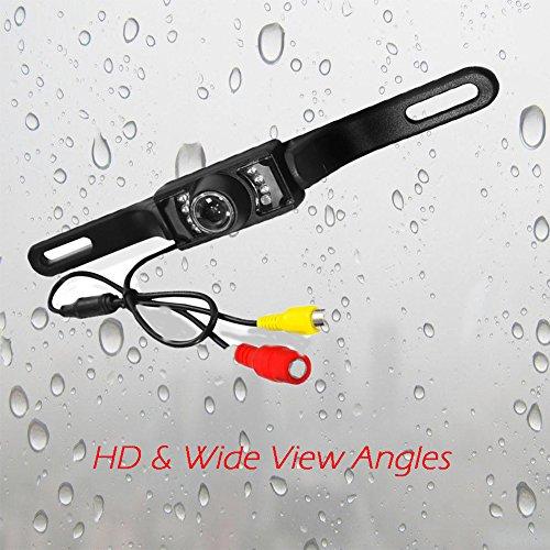EINCAR HD Rear Backup-Kamera wasserdichte Nachtsicht mit Weitsichtwinkel, Fahrzeug Backup-Kamera-System f¨¹r Autos, Auto-hintere Ansicht-Kamera-Monitor f¨¹r Auto-Parken und Fahrsicherheit