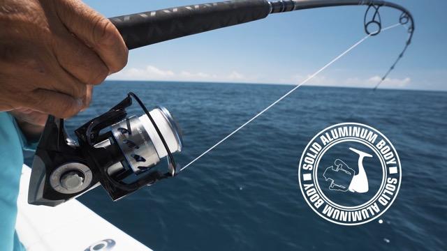 Tsunami Evict TSEVT3000 3000 Saltwater Spinning Fishing Reel USA Seller
