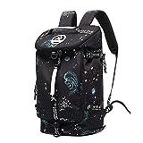 Cool Gym Duffle Bag Backpack 4-Way Waterproof with...