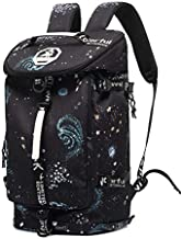 Cool Gym Duffle Bag Backpack 4-Way Waterproof with Shoes Compartment for travel Sport Hiking laptop College Lightweight, Kalesi
