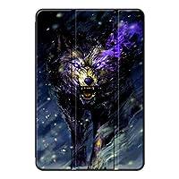Fuleadture iPad mini 5 2019/iPad miniケース,耐摩耗性 スリムなPUレザー 防塵 三つ折タイプ 傷防止 三つ折りブラケット プロテクターケース iPad mini 5 2019/iPad mini Case-ad926