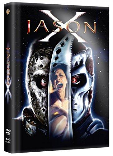 Jason X - Limited Mediabook Uncut Edition 2 Disc DVD - Blu-ray