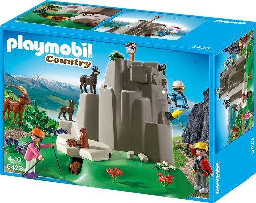 Playmobil Kletterfelsen Gebirgstieren