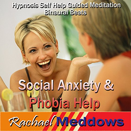 Social Anxiety & Phobia Help Hypnosis audiobook cover art